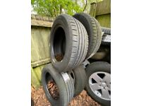 Continental 255/55 R19 tyres x4 *Brand new*
