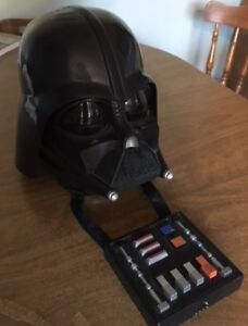 STAR WARS - DARTH VADER mask (with voice changer & recordings)