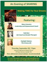 An Evening of Sharing: Making Time for Your Dreams