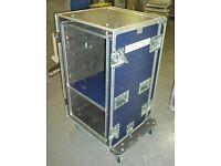 19U Suspended Rack Flightcase