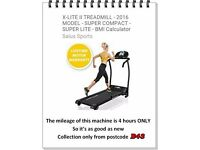 X-LITE II TREADMILL - 2016 MODEL - SUPER COMPACT - SUPER LITE - BMI Calculator