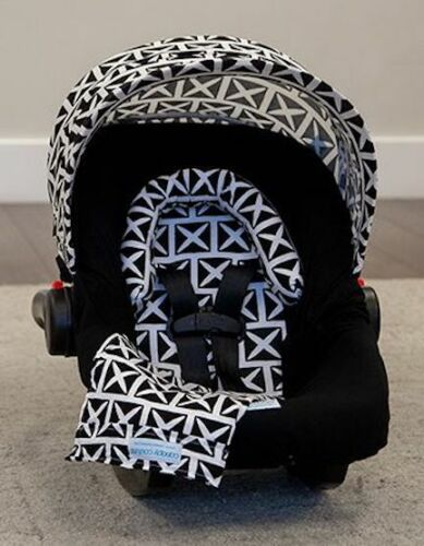 Carseat Canopy Caboodle Infant Car Seat Canopy Cover 5 piece Set Covers Harlow