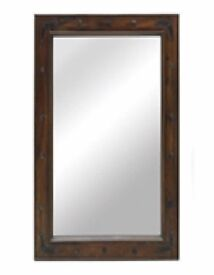 BRAND NEW BOXED JAIPUR MIRROR WITH WOODEN FRAME 3X70X95CM