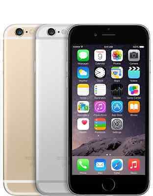 Apple iPhone 6 - 16GB (GSM Unlocked) Smartphone Gold Gray Silver