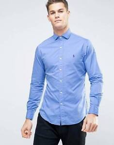 Blue ralph lauren shirt size Small Annerley Brisbane South West Preview
