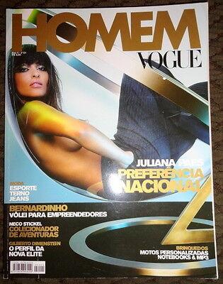 Vogue Brazil Homem Ana Beatriz Barros Juliana Paes Evandro Soldati Ayrton Senna