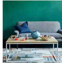 WEST ELM COFFEE TABLE WHITE FRAME Woollahra Eastern Suburbs Preview