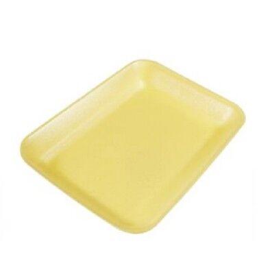 Yellow Foam Meat Tray - CKF 2Y, #2 Yellow Foam Meat Trays, 500/PK