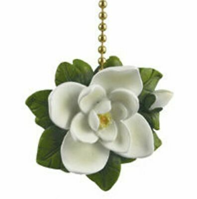Southern Magnolia Tree Flower Floral Fan Light Pull ()