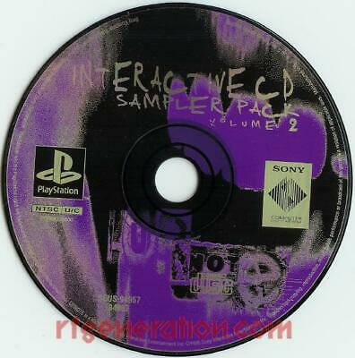 Interactive CD Sampler Pack Volume 2 Disc Only for the Playstation 1