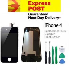 For iPhone 4 Replacement LCD Digitizer Front and Back Screen Assembly Tool Black