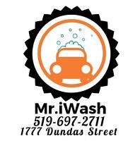 Mr.iWash Auto Detailing Using power of  Steam