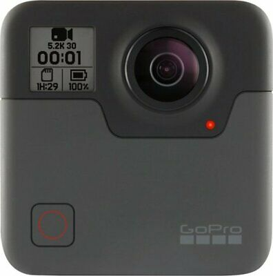 GoPro - Fusion 360-Degree Digital Camera - Black - CHDHZ-103