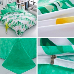 Banana Leaf Bed Set