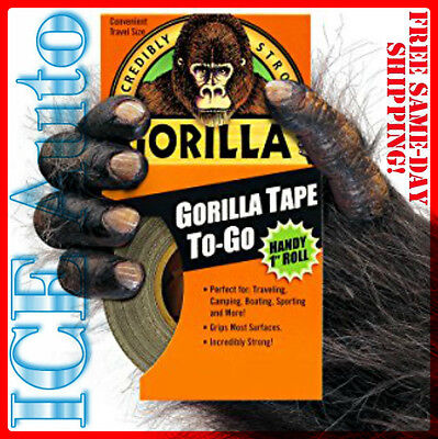 "3-DAY SALE!! Gorilla Glue HANDY ROLL 61001 Adhesive Duct Tape 30' Length 1"" W"