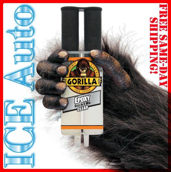 GORILLA GLUE 4200102 Gorilla EPOXY Syringe .85 fl oz -25 ml