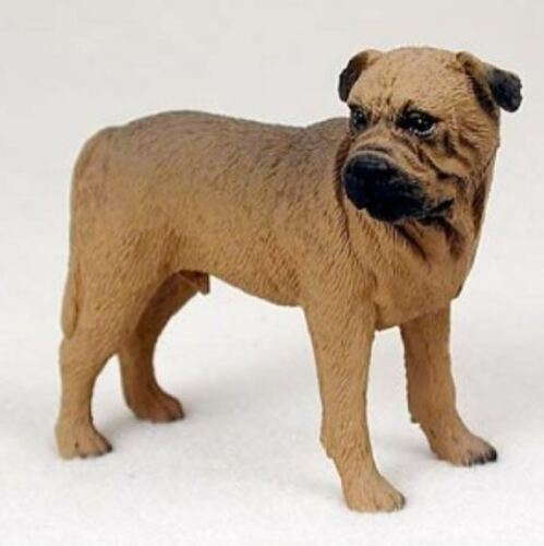 BULLMASTIFF DOG Figurine Statue Hand Painted Resin Gift Pet Lovers