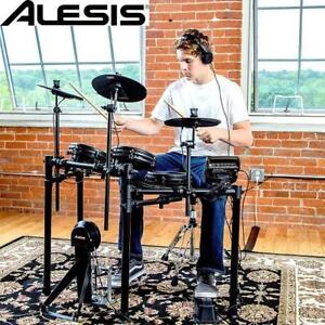 NEW ALESIS 8PC ELECTRONIC DRUM KIT NITROMESHKIT 226898461 NITRO MESH KIT SET PERCUSSION