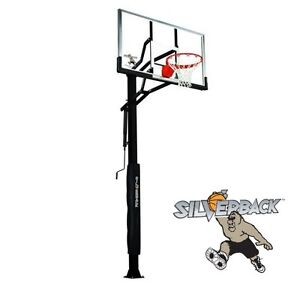 Silverback Professional Inground Basketball Goal Net system