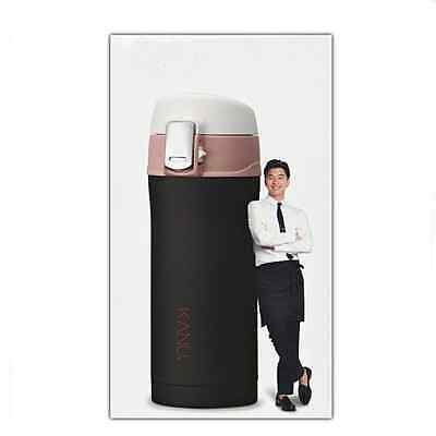 """KANU Stainless New One Touch Tumbler 300ml- Thermos & Cold Coffee Mug """"GONG YOO"""""""