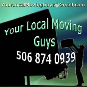 FLAT RATE / Your Local Moving Guys