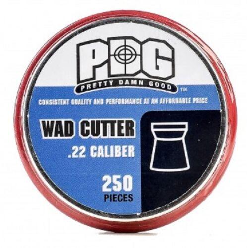 PDG  22 CAL (Pretty Damn Good) WAD CUTTER 15.9 gr AIRGUN PELLETS (250 ct)