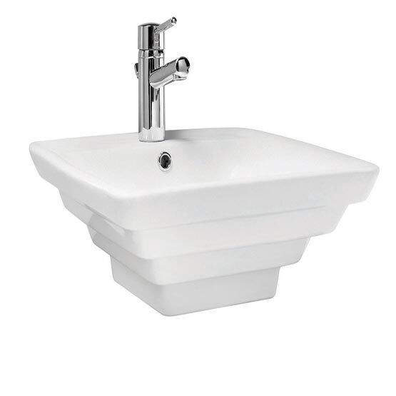 475x475mm 1TH Square Washbowl  - FREE DELIVERY