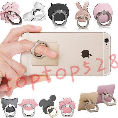 360° Hook Universal Finger Ring Sticky Mount Stand Holder For Cell Phone Tablet