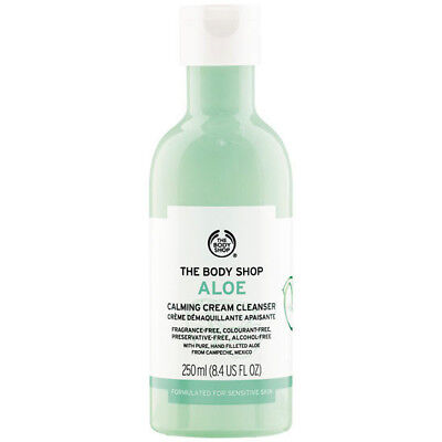 - NEW ❤️ The Body Shop Aloe Calming Facial Cleanser 250ml | FREE SHIPPING