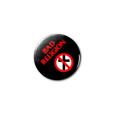 Bad Religion 1.25in Pins Buttons Badge *BUY 2, GET 1 FREE*