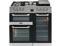 NEW*-Leisure CS90F530 Cuisinemaster Dual Fuel Range Cooker, Stainless Steel PRP £1000- SALE ON