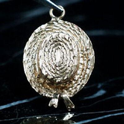 14k gold VENICE GONDOLIER 's HAT charm ITALY - Gondolier Hat