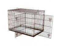 Large sized dog crate