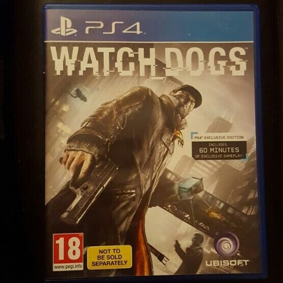 Watch Dogsin Huddersfield, West YorkshireGumtree - Game is in mint condition Being sold separately hence the cheap price No delivery. Collection only