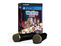 We Sing Pop! 2-Mic PS4 New + Sealed