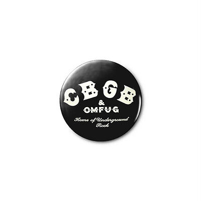 CBGB 1.25in Pins Buttons Badge *BUY 2, GET 1 FREE*