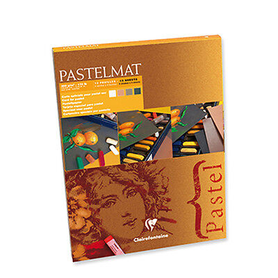 Clairefontaine Pastelmat - Pastel Card Pad - 360g New Shades 96005C - 18 x 24cm