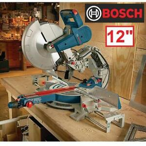 "NEW BOSCH 12"" GLIDE MITER SAW GCM12SD 140108308 BEVEL 15 AMP CORDED SAWS WOODCUTTING WOODWORKING CUTTING POWER TOOL G..."