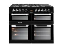NEW*-Leisure CS100F520 Cuisinemaster Dual Fuel Range Cooker Black Warranty included SALE ON PRP £984