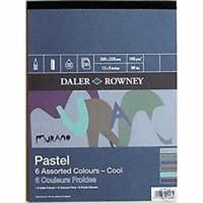"Daler Rowney Murano Pastel Painting Pad - Cool 12"" x 9"""