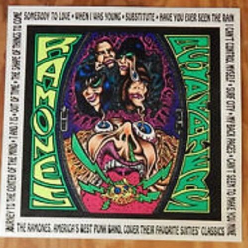 Ramones Acid Eaters Black Light 18x18 Poster Board promo vintage 1993 punk rock