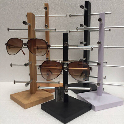 3-6 Tiers Blackwhite Sunglasses Glasses Rack Retail Display Stand Shown Holder