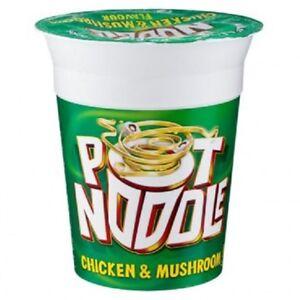 12 x Chicken and Mushroom Pot Noodles - 90g