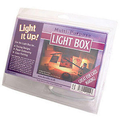 Do Crafts Light It Up - Light Box for embossing tracing