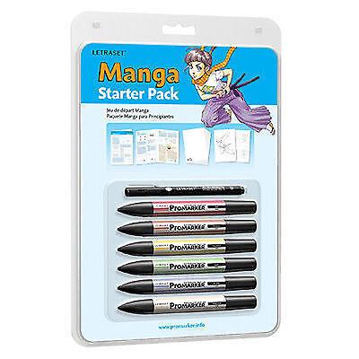 Letraset Promarker - Manga Starter Pack - MSTP1