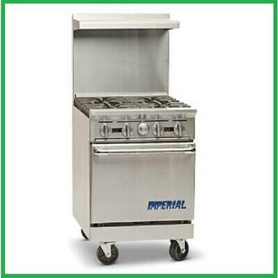Imperial Range Ir-4 24 Restaurant Range With 4 Gas Burners Standard Oven