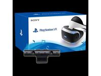 PS VR (BOXED) LIKE BRAND NEW, WITH LATEST CAMERA,