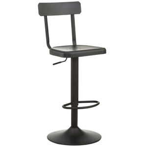 Tabouret de bar cuisine industriel ajustable barstool bar stool