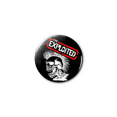 The Exploited 1.25in Pins Buttons Badge *BUY 2, GET 1 FREE*
