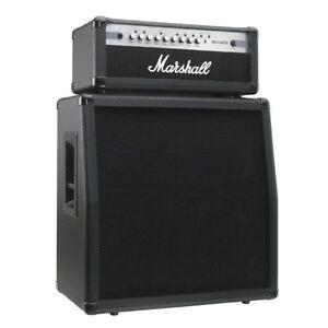 Marshall MG100HCFX Amp Head & 4X12 Cabinet Half Stack - Like New